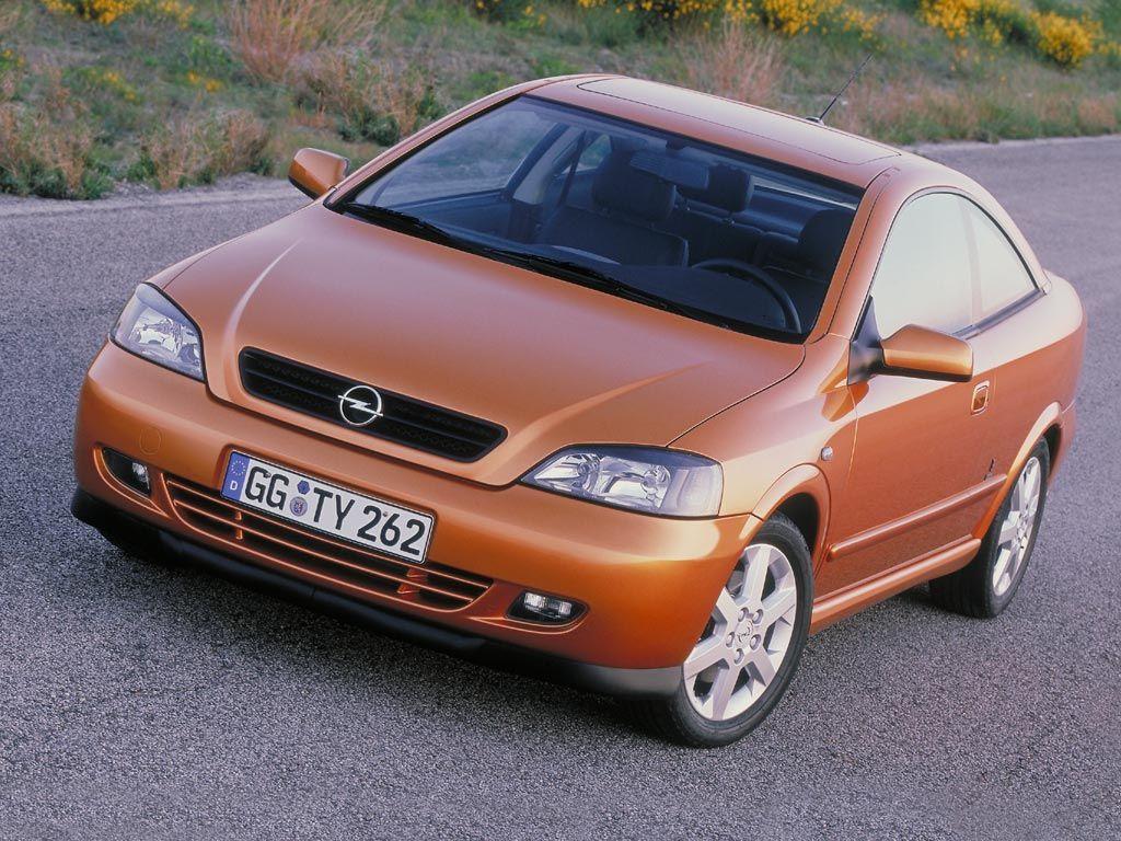 Снимки: Opel Astra G Coupe